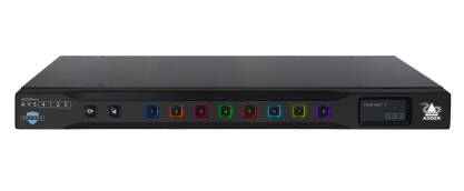 AVS-4128  AdderView Secure 8-port DP/HDMI 4K/60 Flexi-Switch
